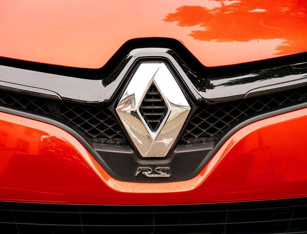 Ancien Logo Renault hypersthene communication graphique