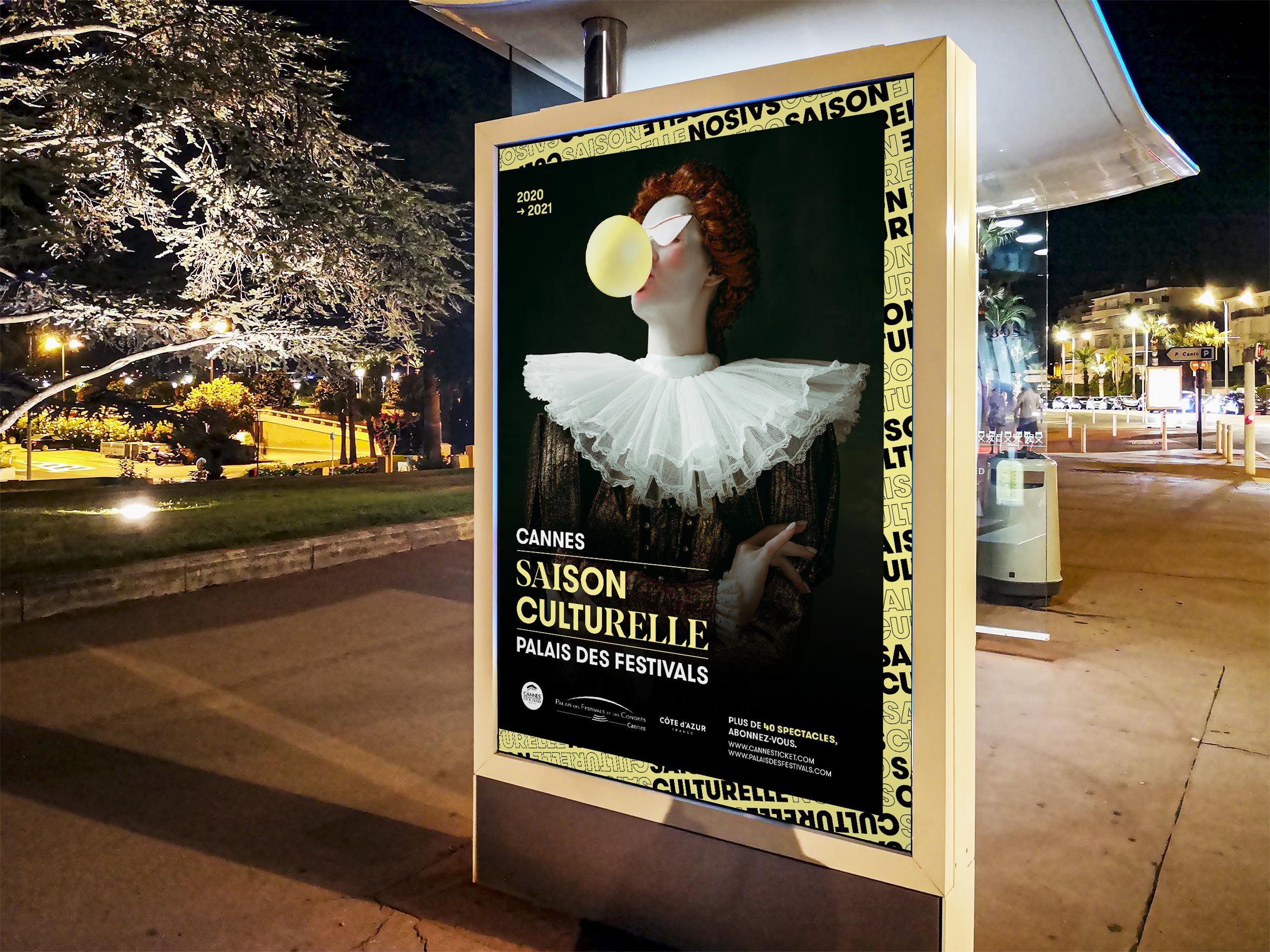 Palais Da Saison Culturelle Abris Bus Cannes 2