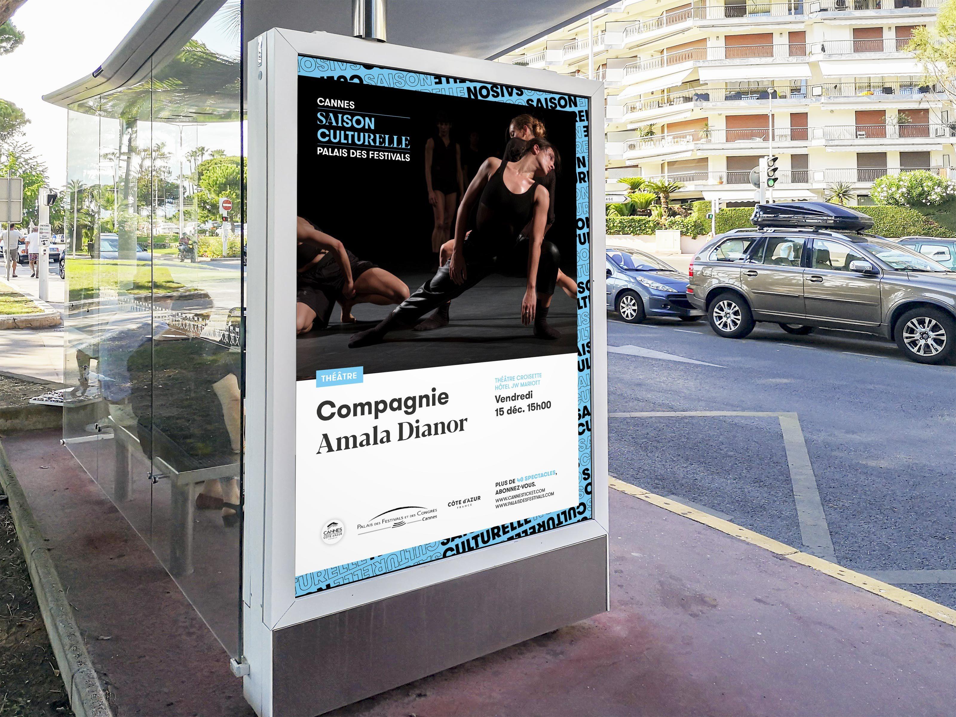 Palais Da Saison Culturelle Abris Bus Cannes 3