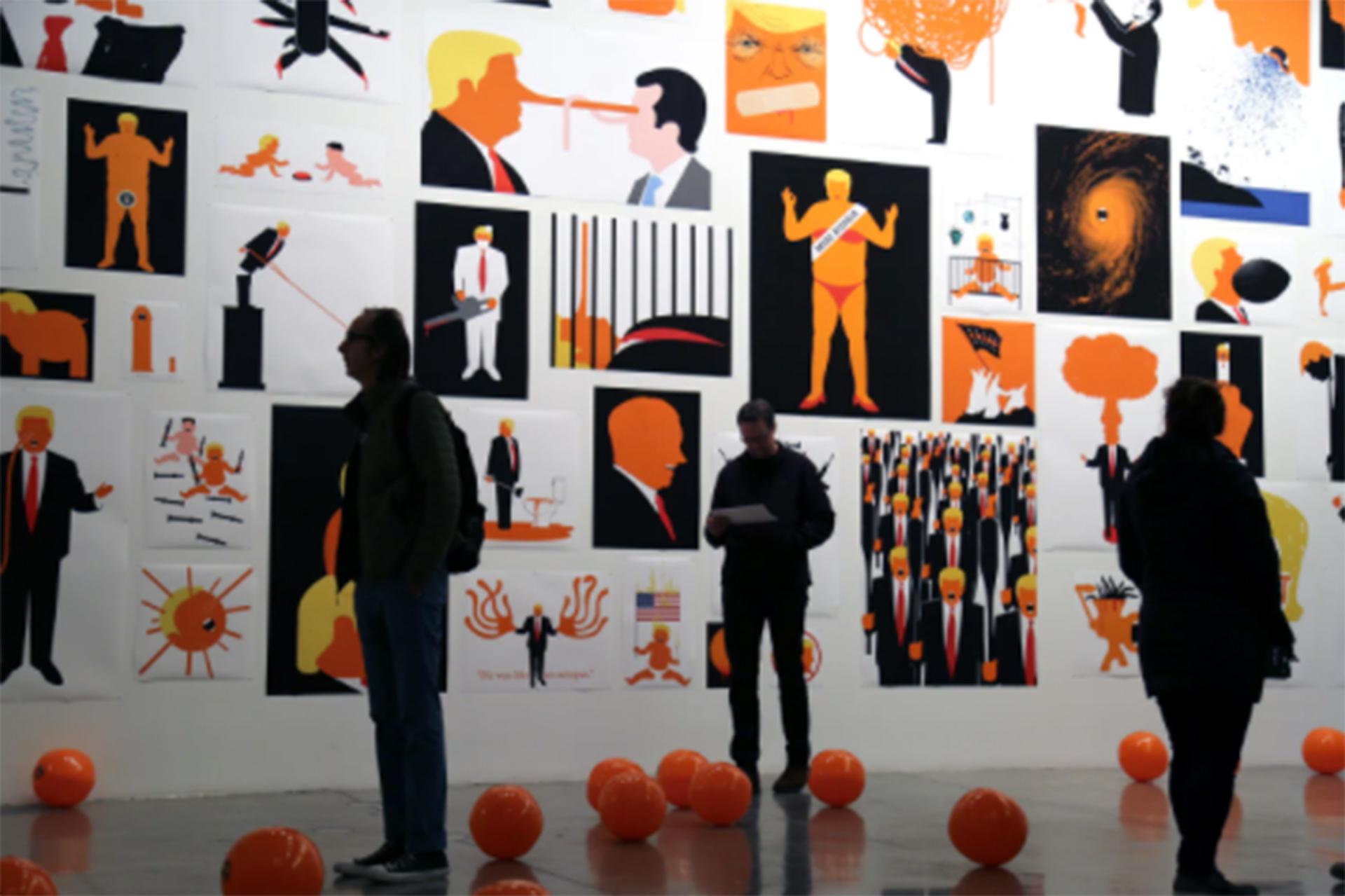 Edel Rodriguez Exposition