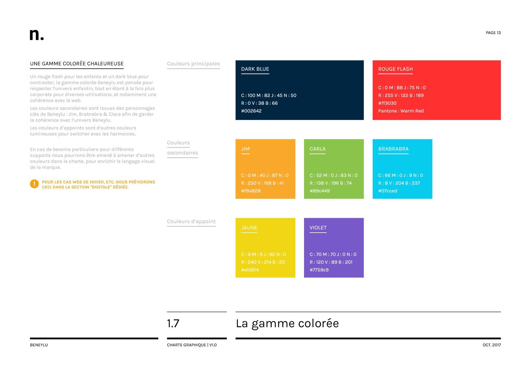 Beneylu Charte Graphique Oct201713