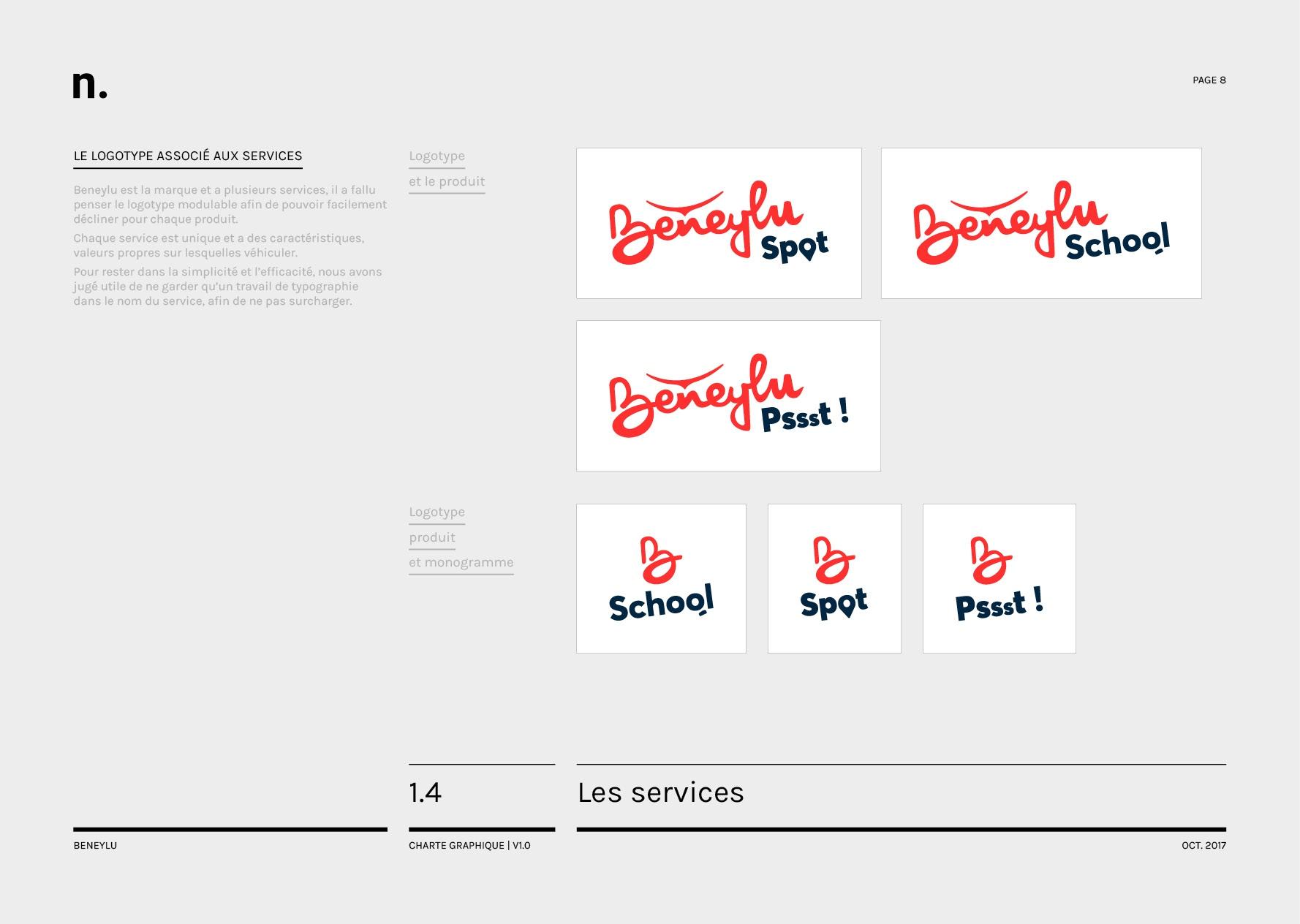 Beneylu Charte Graphique Oct20178