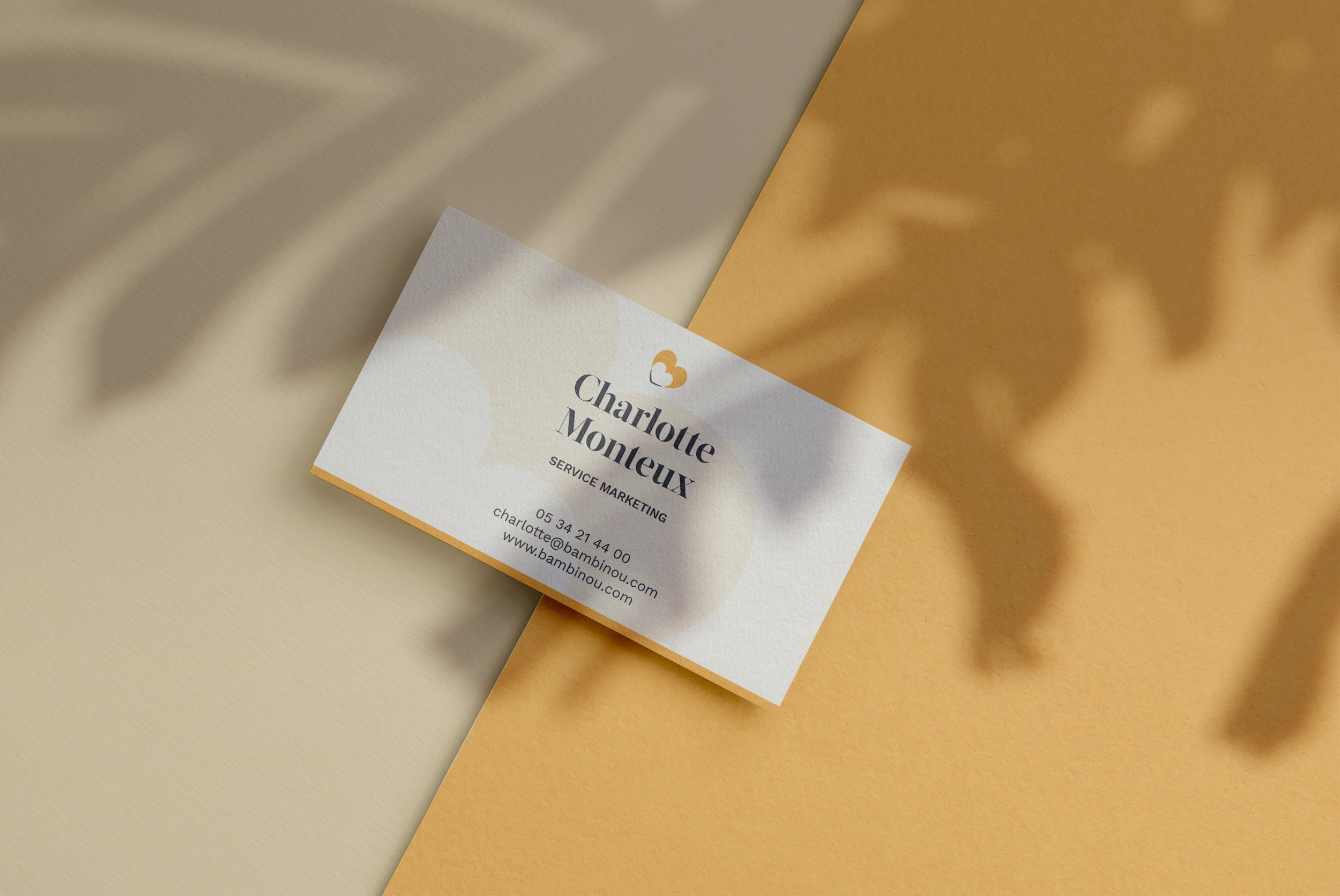 Bambinou Mockup Business Card Num