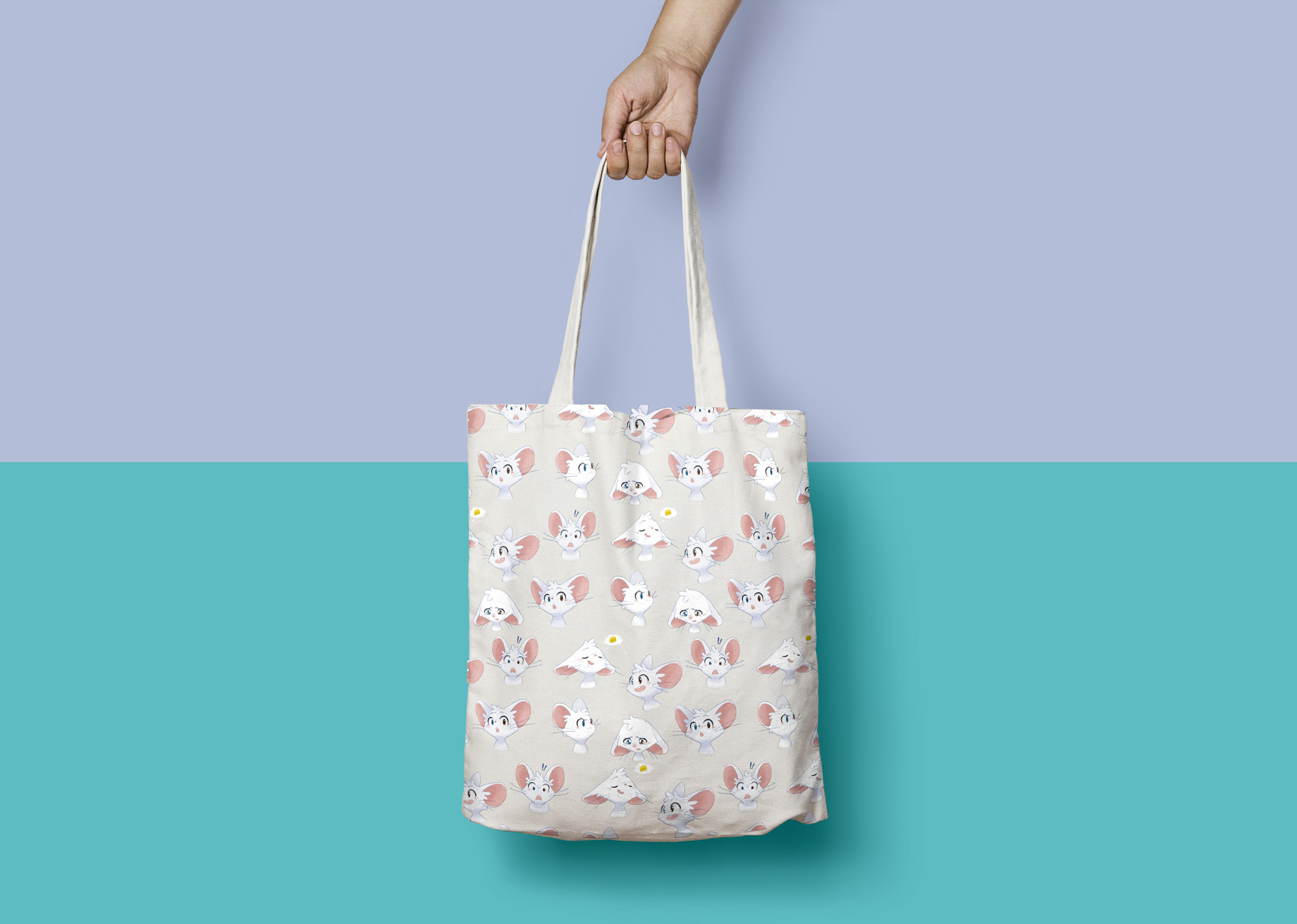 Canvas Tote Bag Mock Up