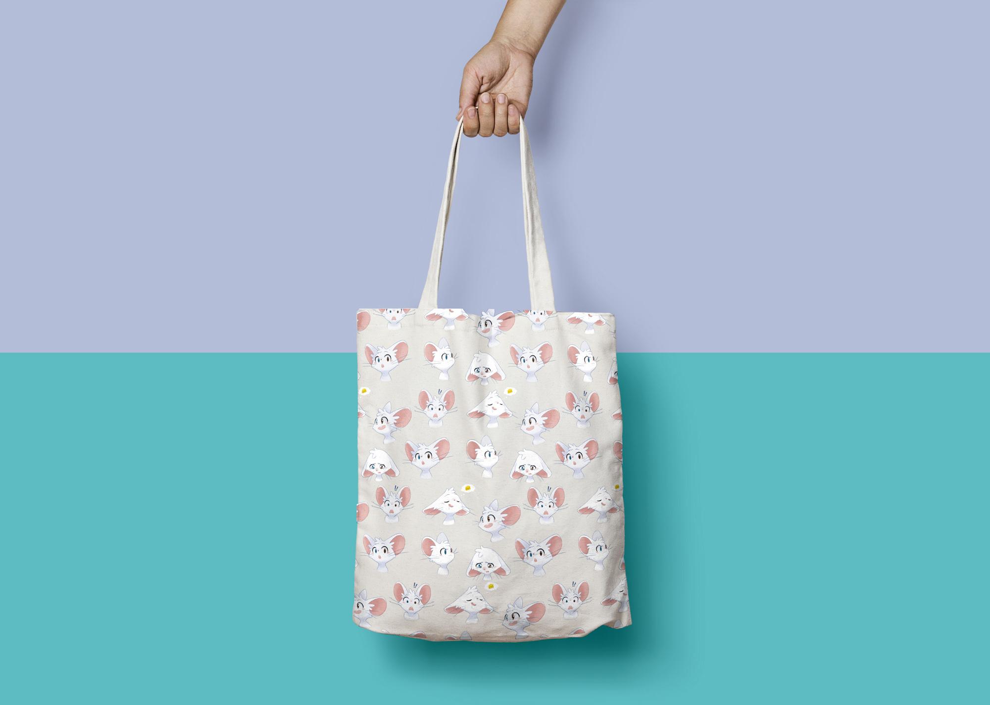Canvas Tote Bag Mock Up