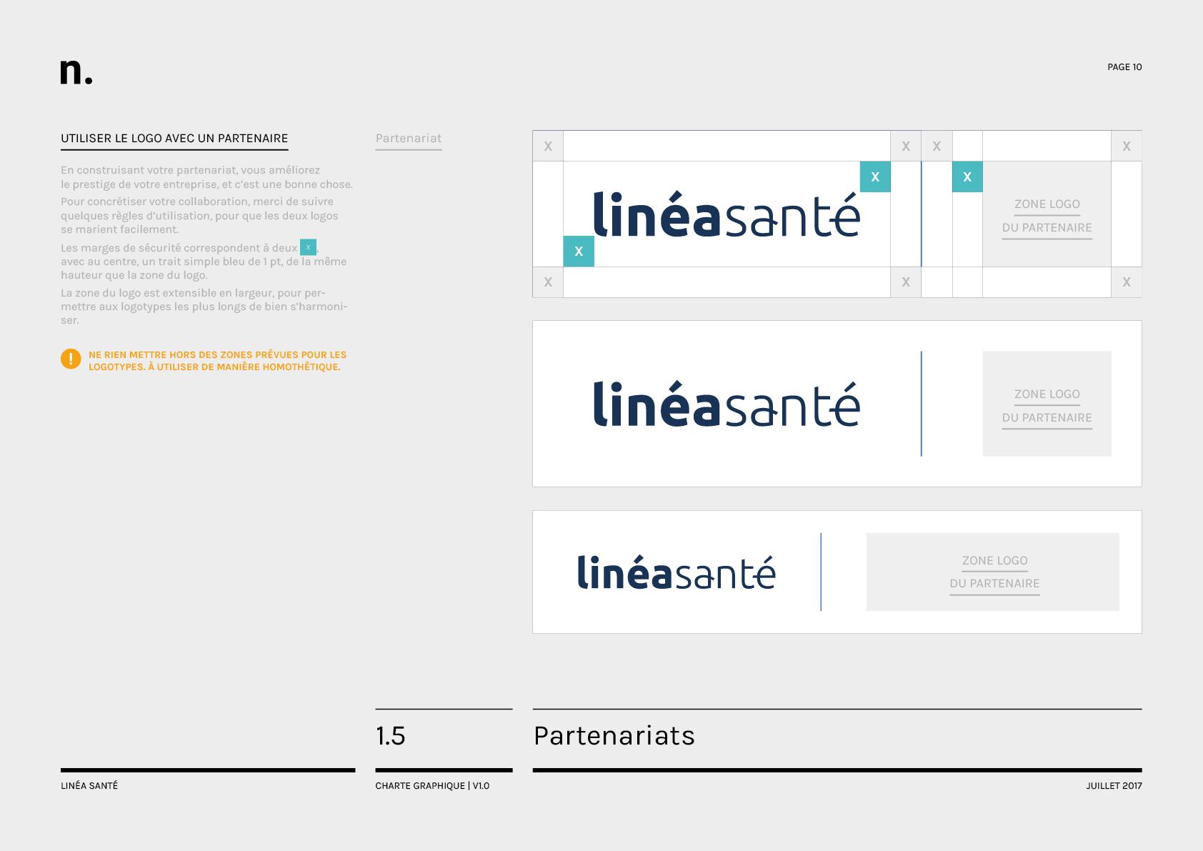 Linea Sante Charte Graphique10