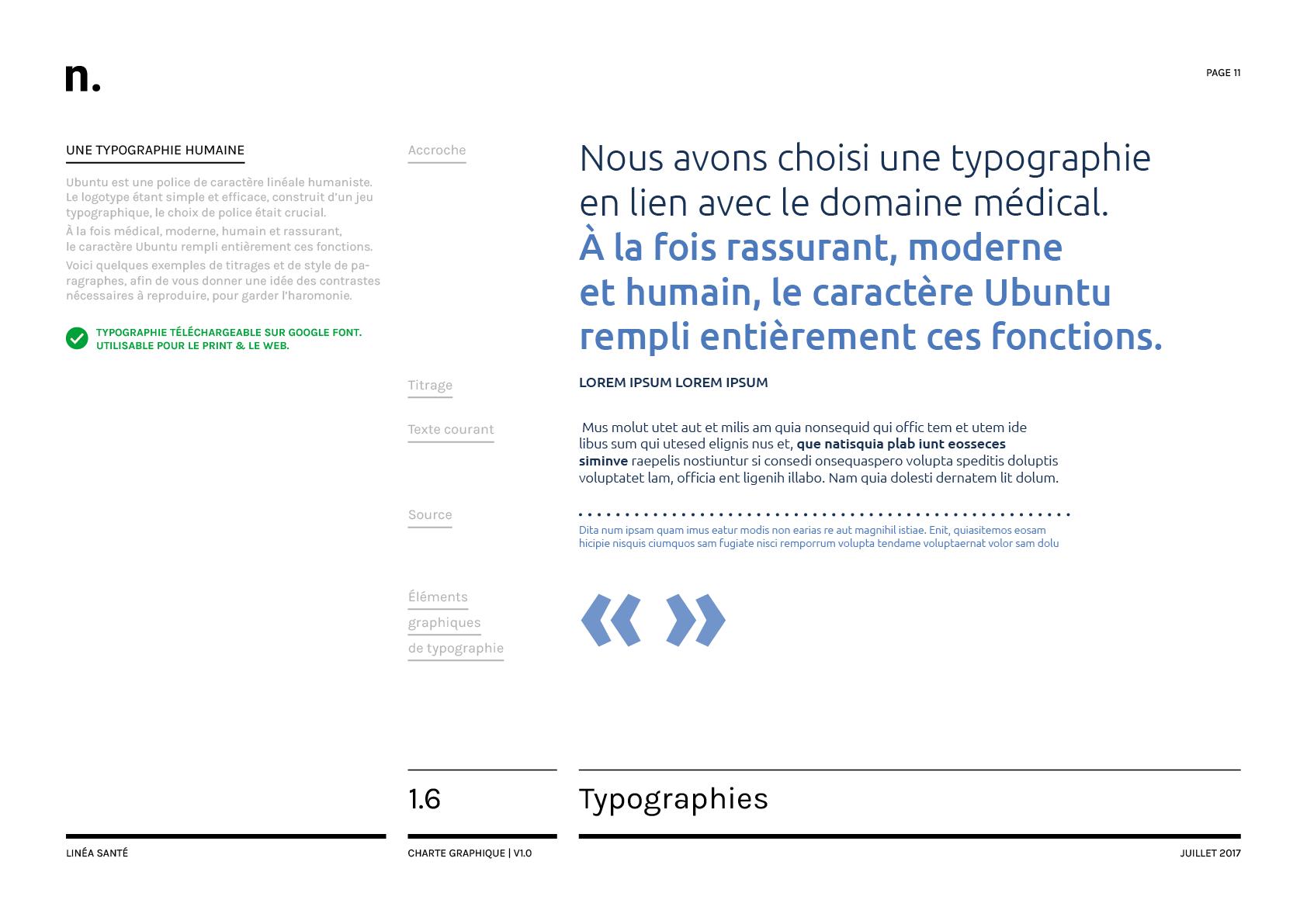Linea Sante Charte Graphique11