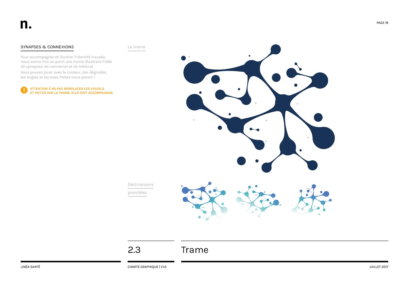 Linea Sante Charte Graphique16