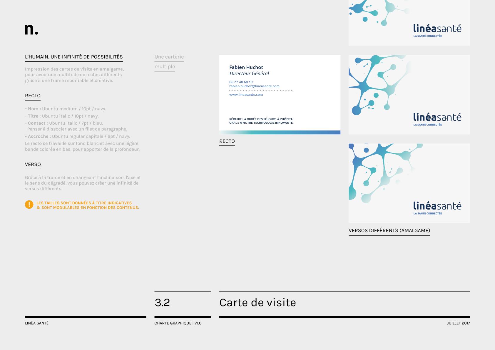 Linea Sante Charte Graphique19
