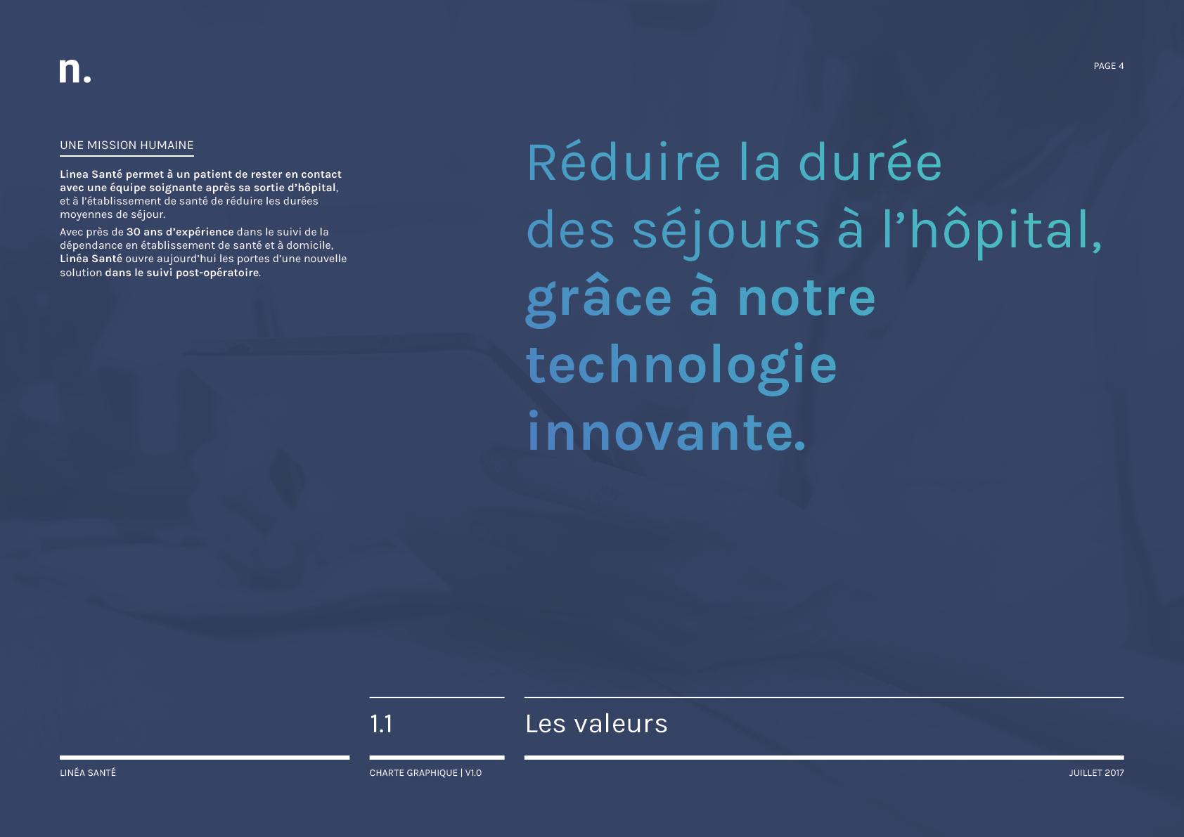 Linea Sante Charte Graphique4