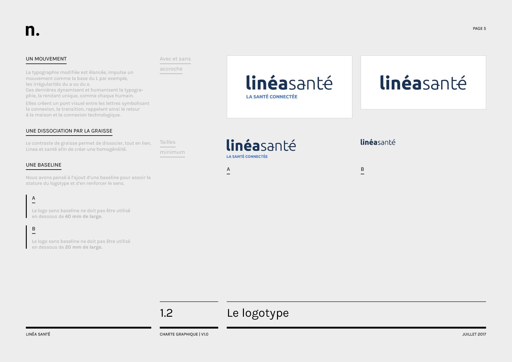 Linea Sante Charte Graphique5