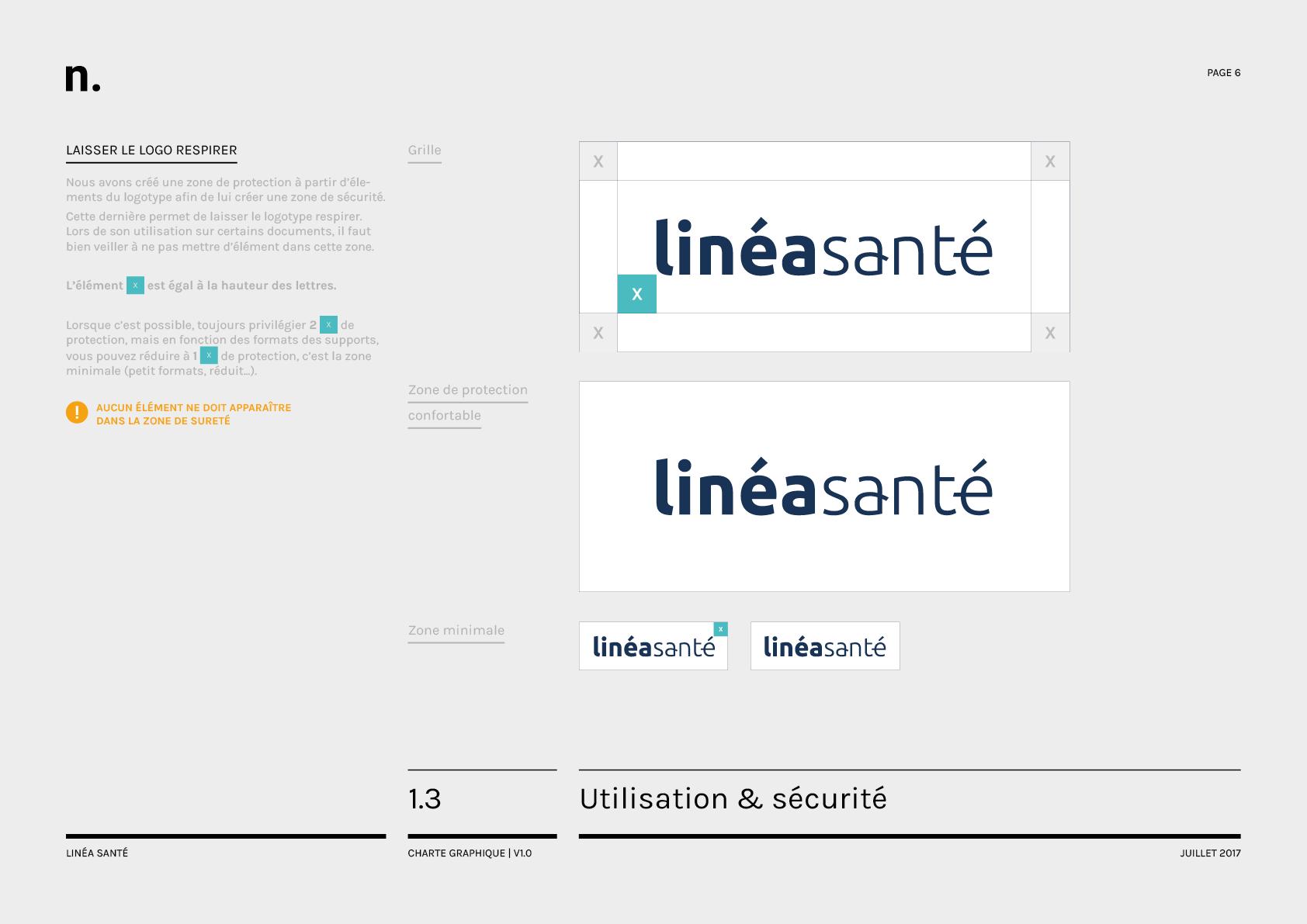 Linea Sante Charte Graphique6