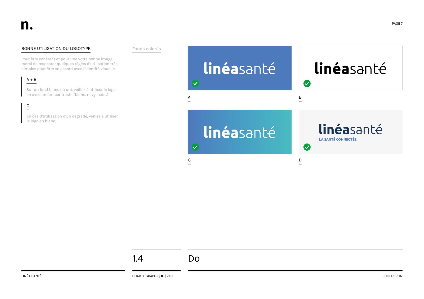 Linea Sante Charte Graphique7