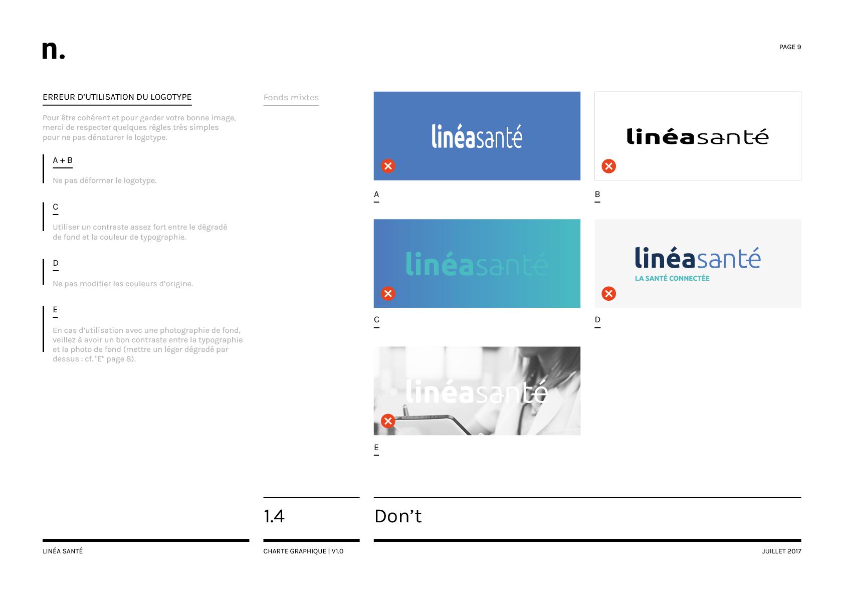 Linea Sante Charte Graphique9