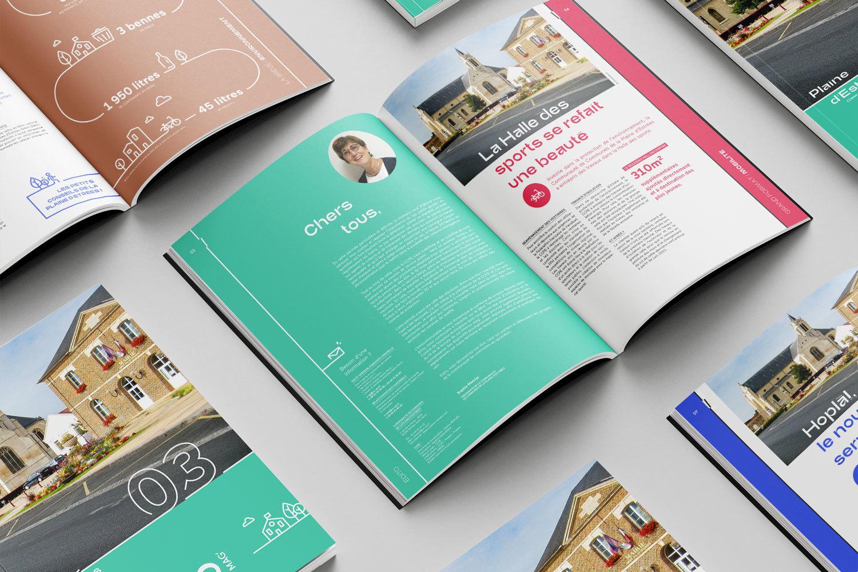 Magazine IntercoMag Plaine d'Estrees identité visuelle 14