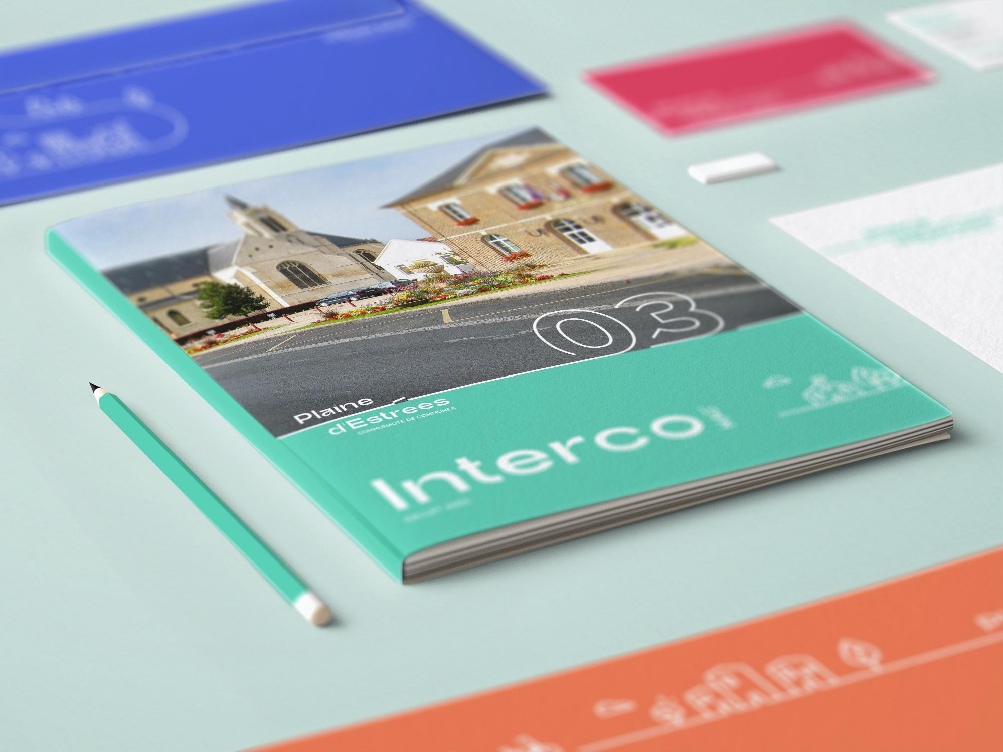 Magazine IntercoMag Plaine D'Estrees identité visuelle 15
