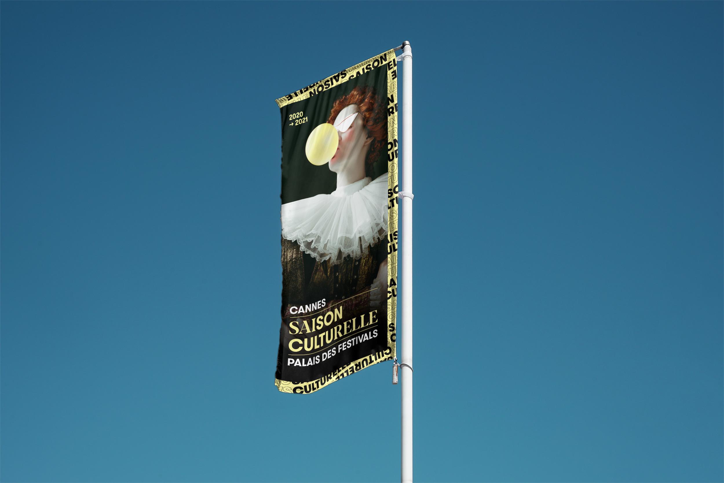 Palais Da Saison Culturelle Flag 1