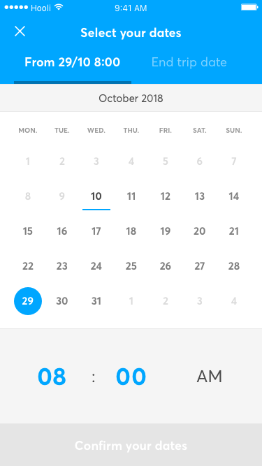 Vulog Ux Ui Booking Form Date First